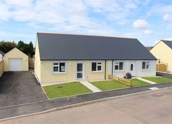 Thumbnail 2 bedroom semi-detached bungalow for sale in Bowett Close, Hundleton, Pembroke
