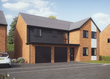 "Thumbnail 5 bedroom detached house for sale in ""The Fenchurch"" at Bridge Road, Old St. Mellons, Cardiff"