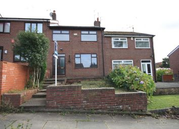 Thumbnail 3 bedroom terraced house to rent in Hillcrest Road, Castleton, Rochdale