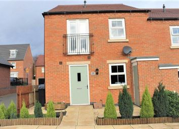 Thumbnail 2 bed semi-detached house to rent in Suffolk Way, Church Gresley, Swadlincote