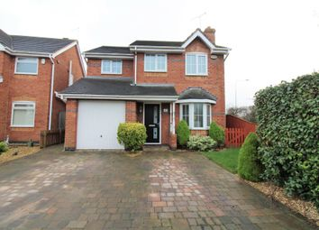Thumbnail 3 bed detached house for sale in Bescot Way, Cleveleys