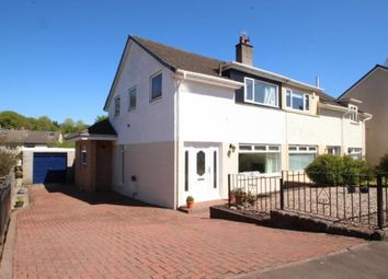 Thumbnail 4 bed semi-detached house for sale in Maclay Avenue, Kilbarchan, Renfrewshire