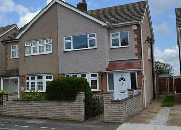 Thumbnail 3 bed terraced house to rent in Lakeside, Rainham