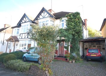 Thumbnail 3 bed semi-detached house for sale in Claremont Park, Finchley, London