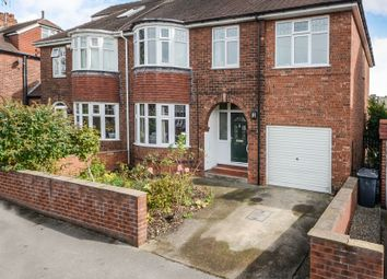 Thumbnail 5 bed semi-detached house for sale in Manor Drive North, York