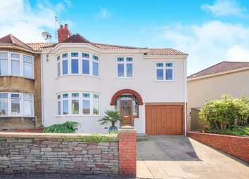 Thumbnail 4 bed semi-detached house for sale in Midland Road, Staple Hill, Bristol