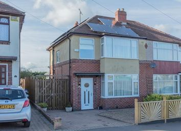 Thumbnail 3 bed semi-detached house for sale in Swanbourne Road, Sheffield