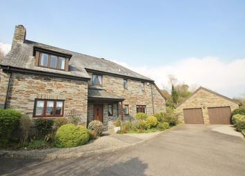 Thumbnail 4 bed detached house for sale in Orchard Close, St. Mellion, Saltash