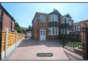 Thumbnail 3 bed semi-detached house to rent in Victoria Avenue, Manchester