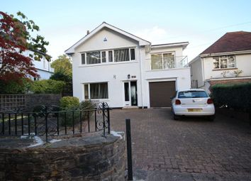 Thumbnail 5 bed detached house for sale in Wenallt Road, Rhiwbina, Cardiff