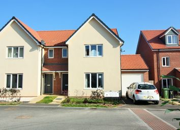 Thumbnail 3 bed semi-detached house for sale in Melrose Avenue, Exeter