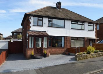Thumbnail 3 bed semi-detached house for sale in Primrose Crescent, Gee Cross, Hyde