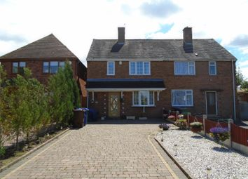 Thumbnail 3 bed semi-detached house for sale in Bideford Way, Cannock