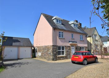 Thumbnail 4 bed detached house for sale in Cotehele Close, Callington, Cornwall