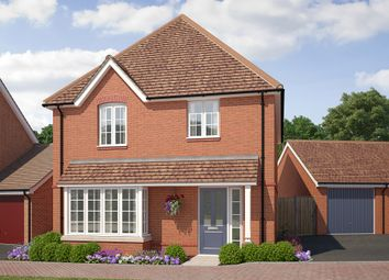 "Thumbnail 4 bed detached house for sale in ""The Barbury (Variant)"" at Saunders Way, Basingstoke"