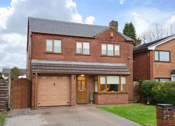 Thumbnail 4 bed detached house for sale in Red Lion Lane, Norton Canes, Cannock