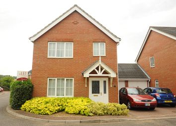 Thumbnail 3 bed link-detached house for sale in Pollywiggle Close, Bowthorpe, Norwich