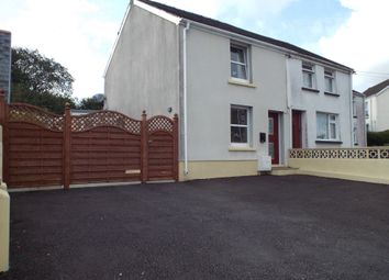 Thumbnail 2 bed semi-detached house for sale in Llannon Road, Pontyberem, Llanelli