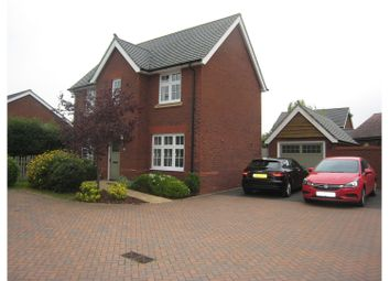 Thumbnail 4 bed detached house for sale in Heol Sirhowy, Caldicot