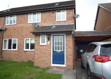 Thumbnail 3 bedroom semi-detached house to rent in Picton Road, Rhoose, Barry