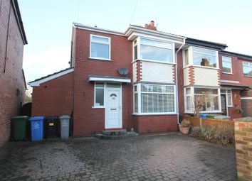 Thumbnail 3 bedroom semi-detached house for sale in Cotswold Avenue, Urmston, Manchester
