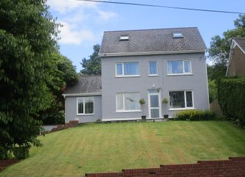 Thumbnail 5 bed detached house for sale in Ystradgynlais, Abercrave, Swansea.