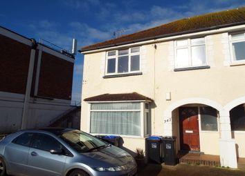 Thumbnail 1 bed flat to rent in Brighton Road, Lancing
