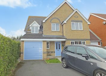 Thumbnail 4 bed detached house for sale in Stansfeld Avenue, Folkestone