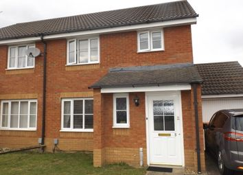 Thumbnail 3 bed property to rent in Carroll Drive, Elstow, Bedford