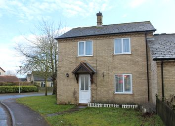 Thumbnail 3 bed semi-detached house for sale in Roman Fields, Woolpit, Bury St. Edmunds