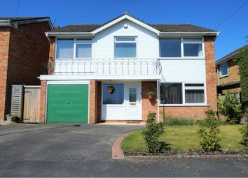 Thumbnail 4 bed detached house for sale in Locksley Drive, Ferndown