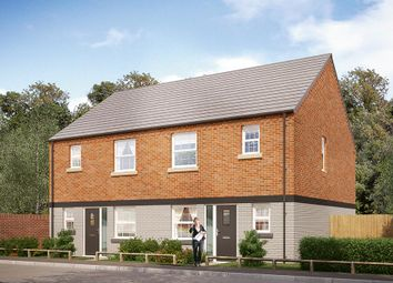 "Thumbnail 3 bedroom detached house for sale in ""The Hamilton"" at Burton Street, Market Harborough"