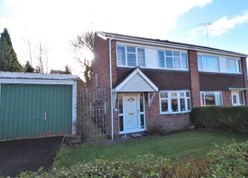 Thumbnail 3 bed semi-detached house for sale in Kimberley Drive, Uttoxeter