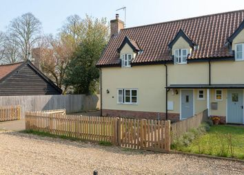 Thumbnail 2 bed semi-detached house for sale in Church Road, Westhorpe, Stowmarket