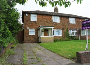 Thumbnail 3 bedroom semi-detached house for sale in Cherry Tree Avenue, Walsall