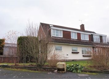 Thumbnail 4 bed semi-detached house for sale in Tay Walk, Allestree, Derby