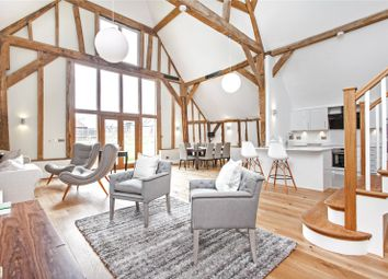 Thumbnail 4 bedroom flat for sale in Manor Barns, Hazeley Road, Twyford, Hampshire