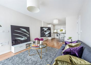 Thumbnail 1 bed flat for sale in Stamford Square, London