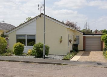 Thumbnail 3 bed detached bungalow for sale in Mill Gardens, Elmswell, Bury St. Edmunds