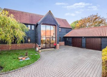 Thumbnail 4 bedroom detached house for sale in Pebmarsh, Halstead, Essex