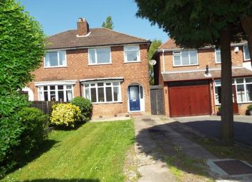 Thumbnail 3 bed semi-detached house for sale in Bridle Lane, Streetly, Sutton Coldfield, West Midlands