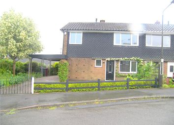 Thumbnail 3 bed semi-detached house to rent in Lincoln Close, Tibshelf, Alfreton
