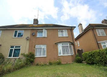 Thumbnail 3 bed semi-detached house for sale in Command Road, Old Town, Eastbourne