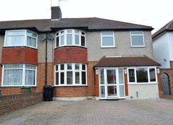 Thumbnail 5 bedroom semi-detached house for sale in Hillcross Avenue, Morden