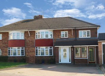 Thumbnail 4 bed semi-detached house for sale in St. Catherines Avenue, Bletchley, Milton Keynes