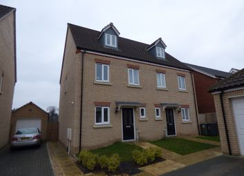Thumbnail 3 bed property to rent in Chestnut Close, Cringleford