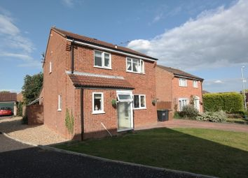 Thumbnail 3 bed detached house to rent in Kipling Way, Stowmarket, Suffolk