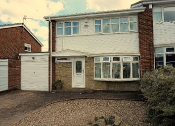 Thumbnail 3 bed semi-detached house for sale in Jasmin Avenue, Newcastle Upon Tyne