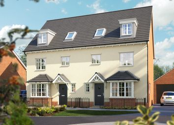 "Thumbnail 4 bed town house for sale in ""The Wimborne"" at Steppingley Road, Flitwick, Bedford"
