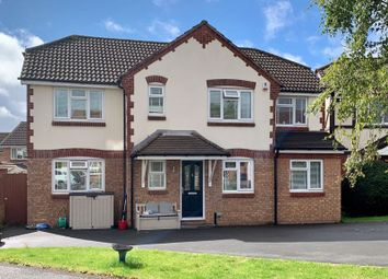 Thumbnail 4 bed detached house for sale in Lytham Drive, Holmer, Hereford